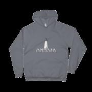 Amelia Island Lighthouse Asphalt Hoodie