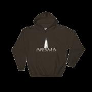 Amelia Island Lighthouse Hoodie Dark-Chocolate