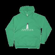 Amelia Island Lighthouse Kelly-Green Hoodie