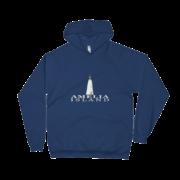 Amelia Island Lighthouse Navy Hoodie