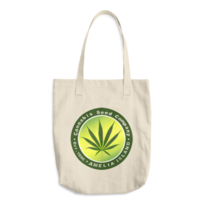Cannabis Seed Company Denim Beige Tote