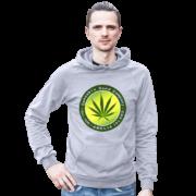 Cannabis Seed Company Heather-Grey Male Model