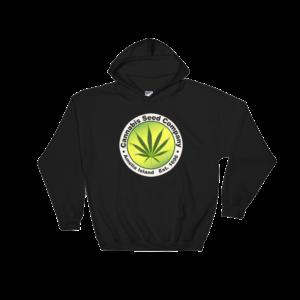 Cannabis Seed Company Hoodie Black
