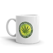 Cannabis Seed Company Mug Handle-on-Left 11oz