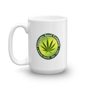 Cannabis Seed Company Mug Handle-on-Left 15oz