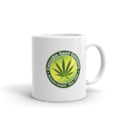 Cannabis Seed Company Mug Handle-on-Right 11oz