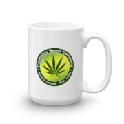 Cannabis Seed Company Mug Handle-on-Right 15oz