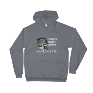 Florida's Oldest Saloon Asphalt Hoodie