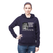 Florida's Oldest Saloon Asphalt Hoodie Female Model