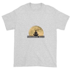 Full Moon Lotus Ultra Cotton T-Shirt Ash