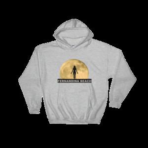Full Moon Yoga Hoodie Sport-Grey