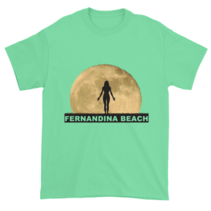 Full Moon Yoga Ultra Cotton T-Shirt Mint-Green