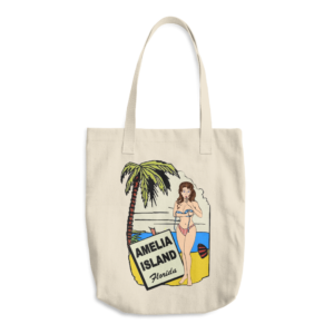Oops My Bathing Suit Beige Tote