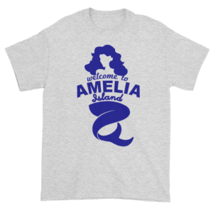 Welcome to Amelia Mermaid Ultra Cotton-T-Shirt Ash