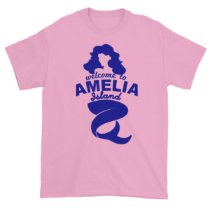 Welcome to Amelia Mermaid Ultra Cotton-T-Shirt Light-Pink