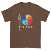 Yin & Yang Ultra Cotton T-Shirt Chestnut