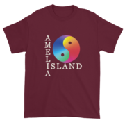 Yin & Yang Ultra Cotton T-Shirt Maroon