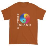 Yin & Yang Ultra Cotton T-Shirt Texas-Orange