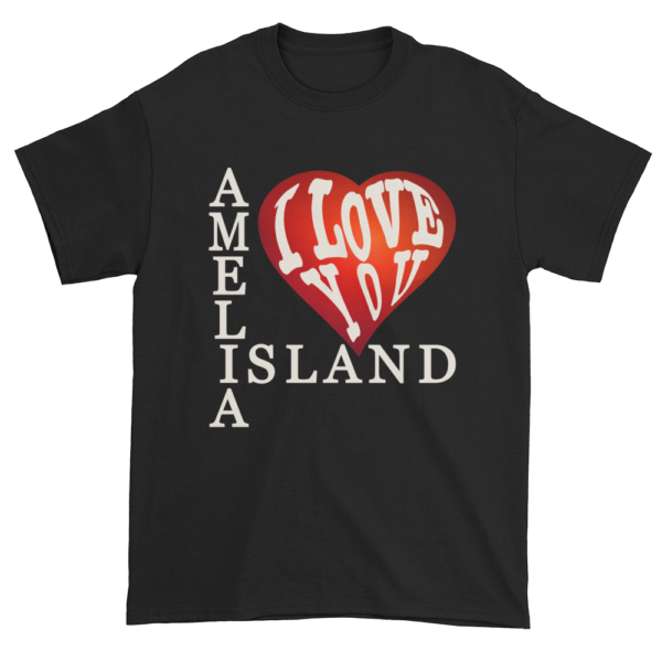 Amelia I Love You Ultra Cotton T-Shirt Black