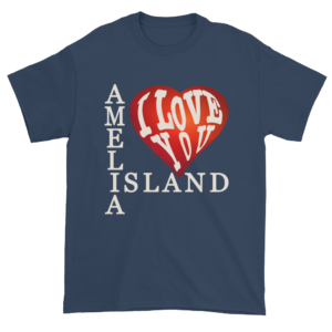 Amelia I Love You Ultra Cotton T-Shirt Blue-Dusk