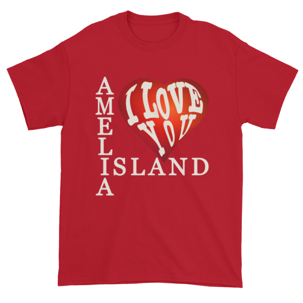 Amelia I Love You Ultra Cotton T-Shirt Cherry-Red