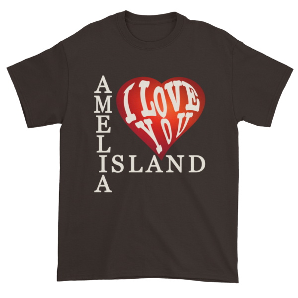 Amelia I Love You Ultra Cotton T-Shirt Dark-Chocolate