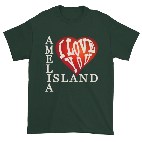Amelia I Love You Ultra Cotton T-Shirt Forest