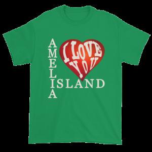 Amelia I Love You Ultra Cotton T-Shirt Irish-Green