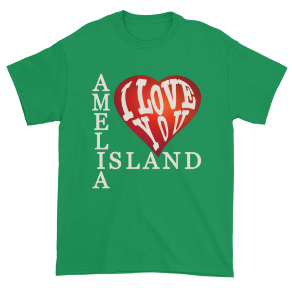 Amelia I Love You Ultra Cotton T-Shirt Irish-Green