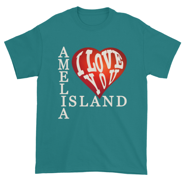 Amelia I Love You Ultra Cotton T-Shirt Jade-Dome