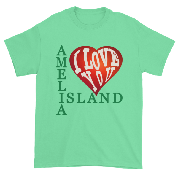 Amelia I Love You Ultra Cotton T-Shirt Mint-Green