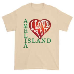 Amelia I Love You Ultra Cotton T-Shirt Natural