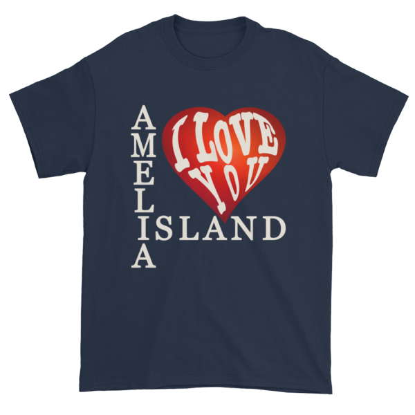 Amelia I Love You Ultra Cotton T-Shirt Navy