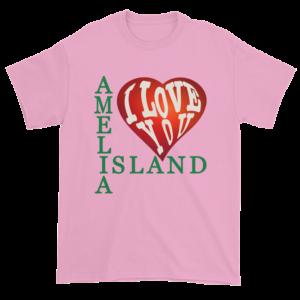 Amelia I Love You Ultra Cotton T-Shirt Pink