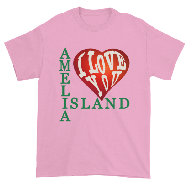 Amelia I Love You Ultra Cotton T-Shirt Pink