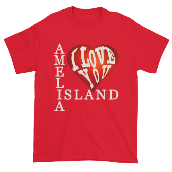 Amelia I Love You Ultra Cotton T-Shirt Red