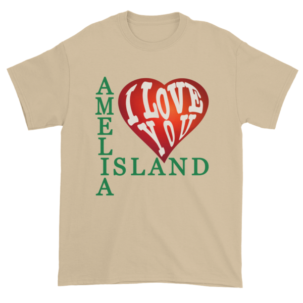 Amelia I Love You Ultra Cotton T-Shirt Sand
