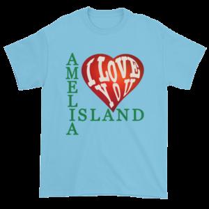 Amelia I Love You Ultra Cotton T-Shirt Sky
