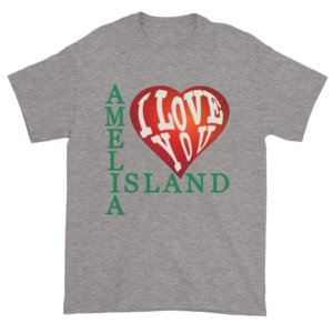 Amelia I Love You Ultra Cotton T-Shirt Sport-Grey