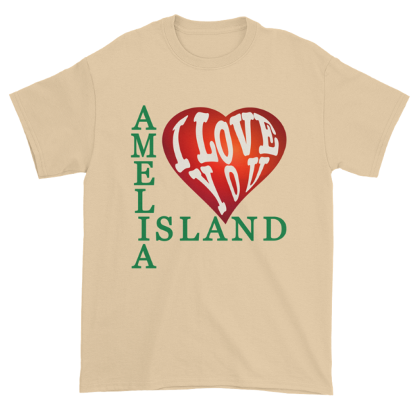 Amelia I Love You Ultra Cotton T-Shirt Tan