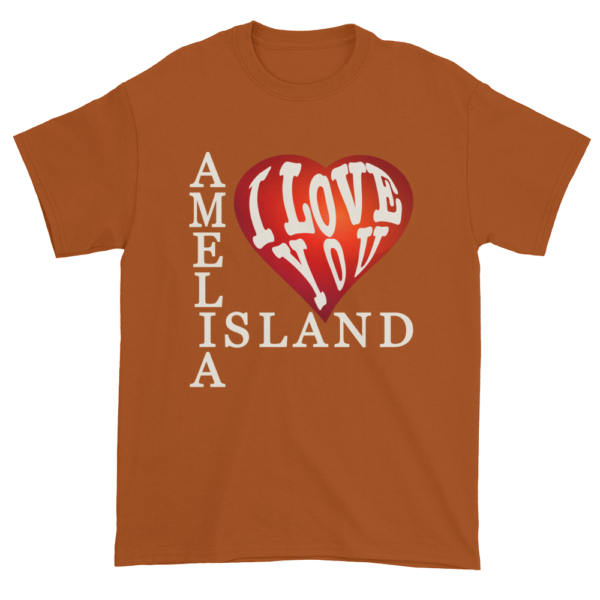 Amelia I Love You Ultra Cotton T-Shirt Texas-Orange
