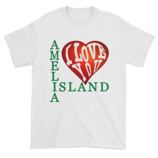 Amelia I Love You Ultra Cotton T-Shirt White