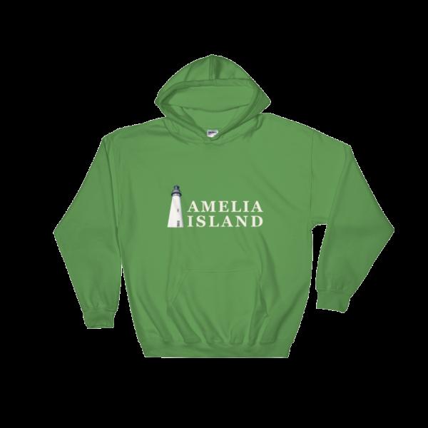 Amelia Island Iconic Lighthouse Hoodie Irish-Green
