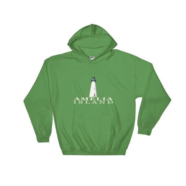 Amelia Island Lighthouse Hoodie Irish-Green