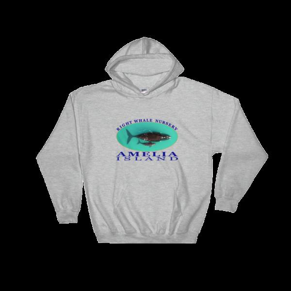Amelia Island Nursery Hoodie Sport-Grey