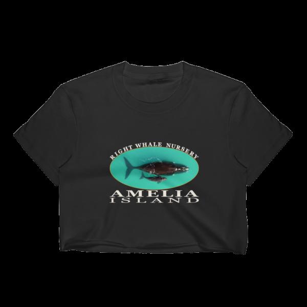 Amelia Island Nursery Short Sleeve Cropped T-Shirt Black