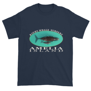 Amelia Island Nursery Ultra Cotton T-Shirt Navy