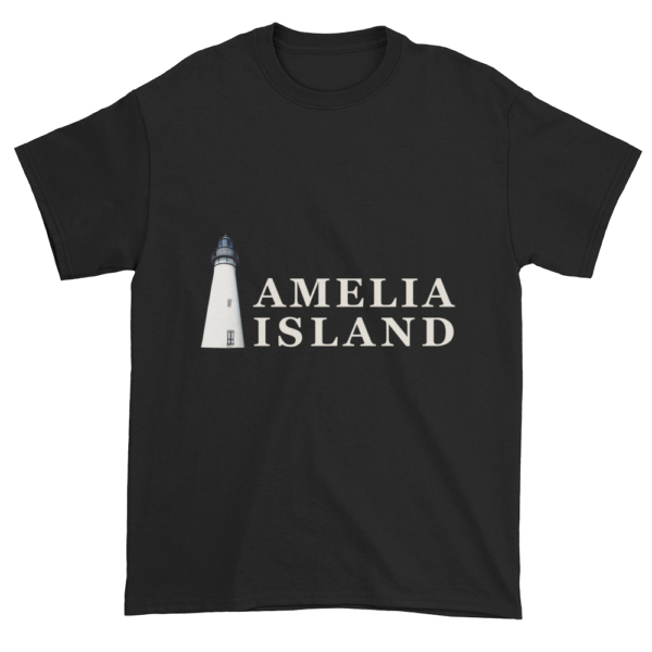Amelia's Iconic Lighthouse Ultra Cotton T-Shirt Black