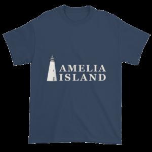 Amelia's Iconic Lighthouse Ultra Cotton T-Shirt Blue-Dusk