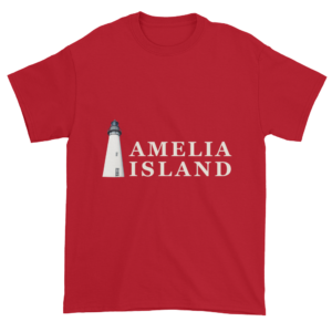 Amelia's Iconic Lighthouse Ultra Cotton T-Shirt Cherry-Red